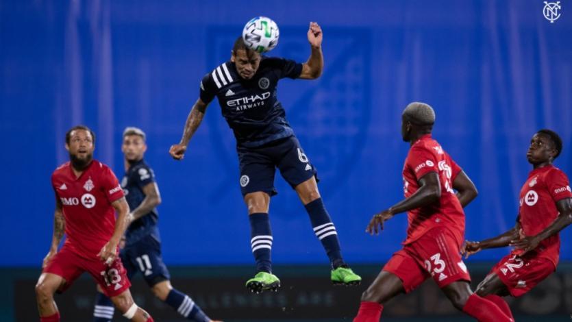 Alexander Callens anotó en derrota del New York City por la MLS