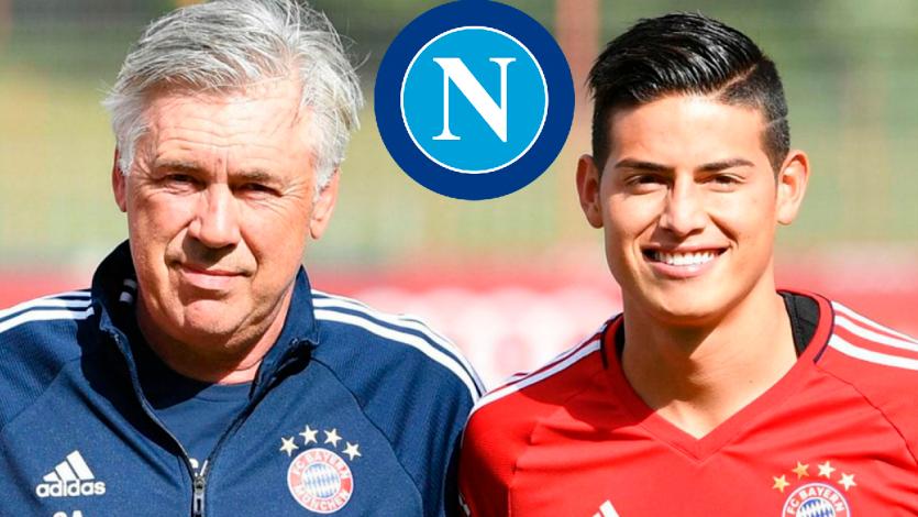 James Rodríguez podría fichar por el Napoli