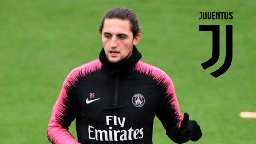 Adrien Rabiot estaría a un paso de la Juventus