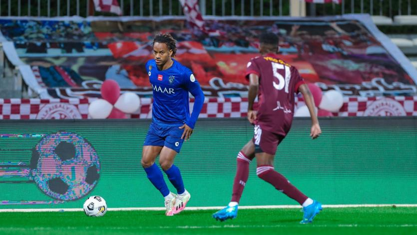 André Carrillo dio una gran asistencia en el empate del Al Hilal (VIDEO)