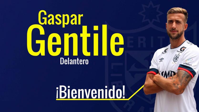 Liga1 Movistar: Universidad San Martín fichó a delantero argentino Gaspar Gentile