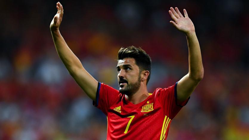 Con 14 títulos bajo el brazo, David Villa anunció su retiro del fútbol profesional