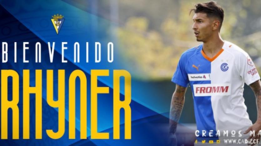 OFICIAL: Jean Pierre Rhyner jugará en el Cádiz del ascenso español