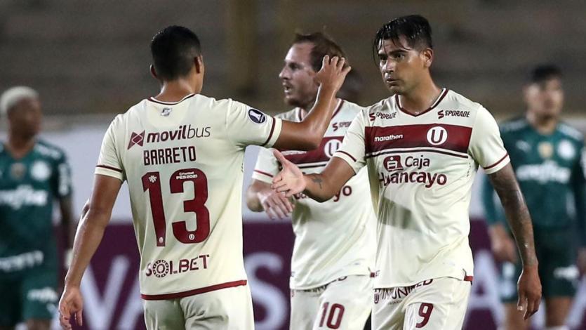 Copa Libertadores: Universitario y sus dos goles con garra para empatarle a Palmeiras en... ¡2 minutos! (VIDEO)