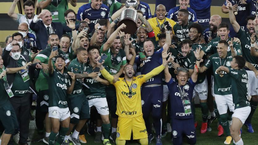 Copa Libertadores: Palmeiras se consagró campeón tras superar 1-0 a Santos