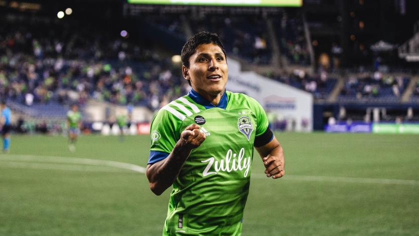 Raúl Ruidíaz fue elegido en el once ideal de la primera jornada de la MLS (VIDEO)