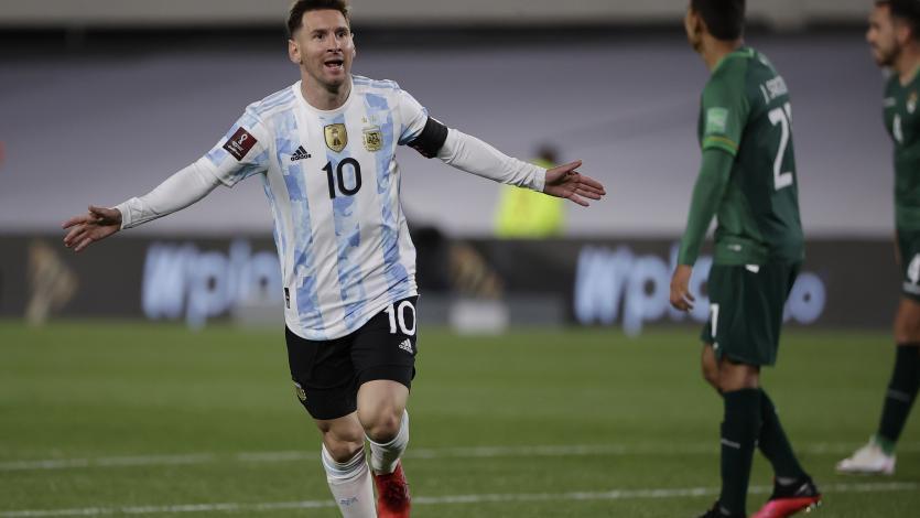 Eliminatorias Sudamericanas: Argentina goleó 3-0 a Bolivia con tres goles de Lionel Messi