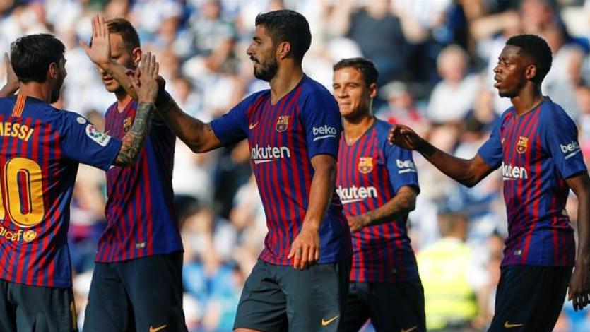 La Liga: Barcelona remontó para vencer a la Real Sociedad