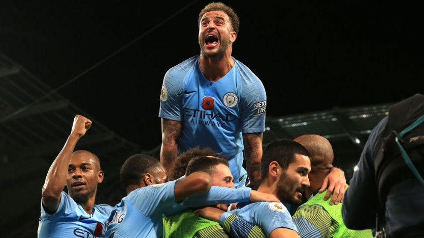 Premier League: El City se quedó con el derbi de Manchester