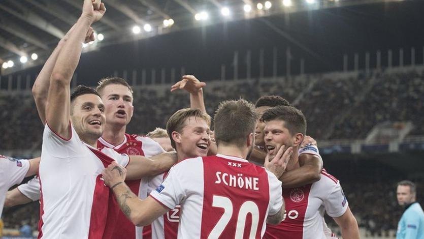 Champions League: Ajax clasificó a 1/8 de final luego de 13 años