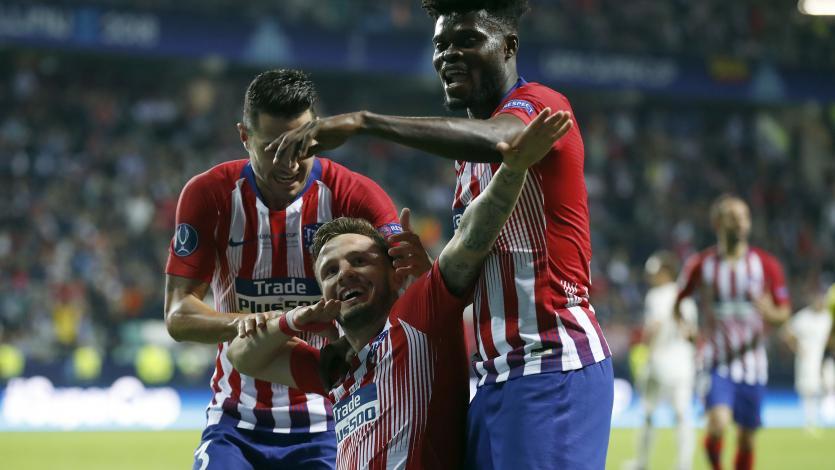 Atlético de Madrid derrotó al Real Madrid y se llevó la Supercopa de Europa