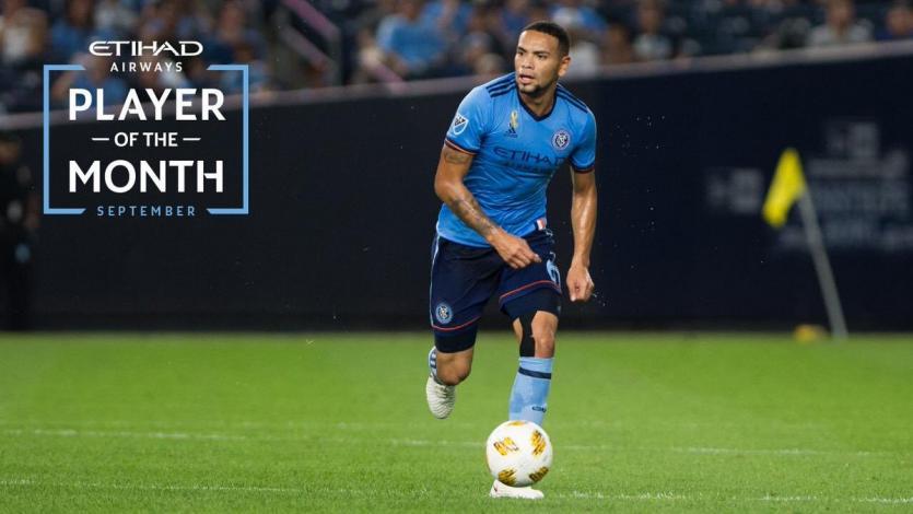 Alexander Callens: peruano fue elegido como el jugador del mes en New York City
