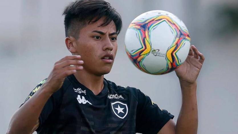 Botafogo: Alexander Lecaros debutó oficialmente y regaló una bella asistencia (VIDEO)