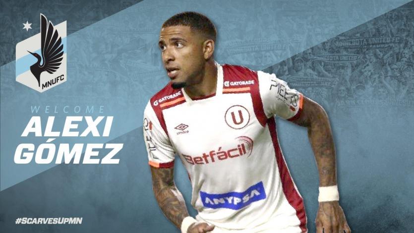 Alexi Gómez es nuevo jugador del Minnesota United