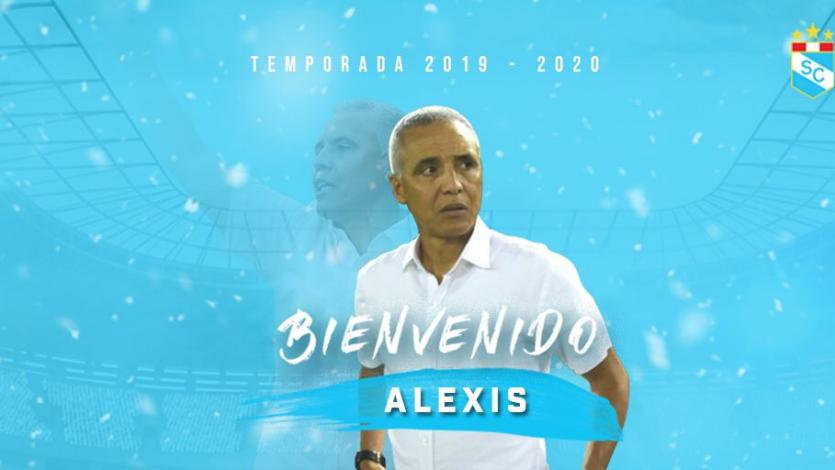 Sporting Cristal: Alexis Mendoza es el nuevo entrenador