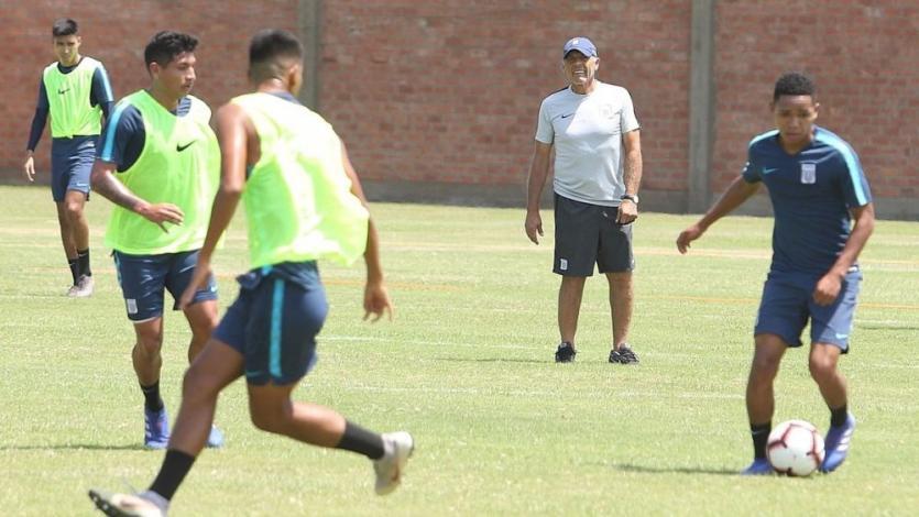 Alianza Lima entrenó con Miguel Ángel Russo a horas del partido con Universitario