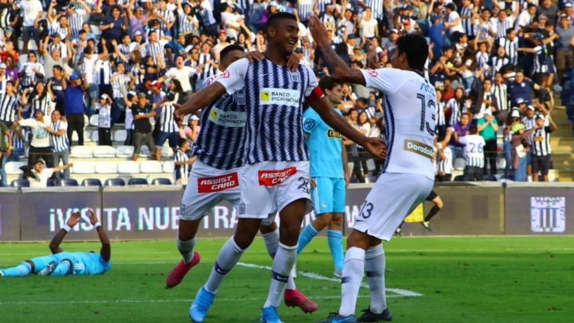 Alianza Lima: Carlos Beltrán se lució en el gol del triunfo ante Sporting Cristal