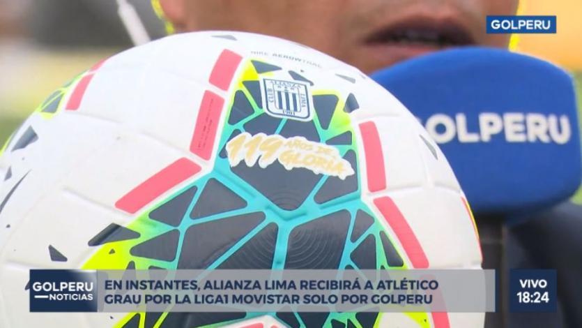 Alianza Lima: La pelota especial que conmemora el aniversario 119 del club (VIDEO)