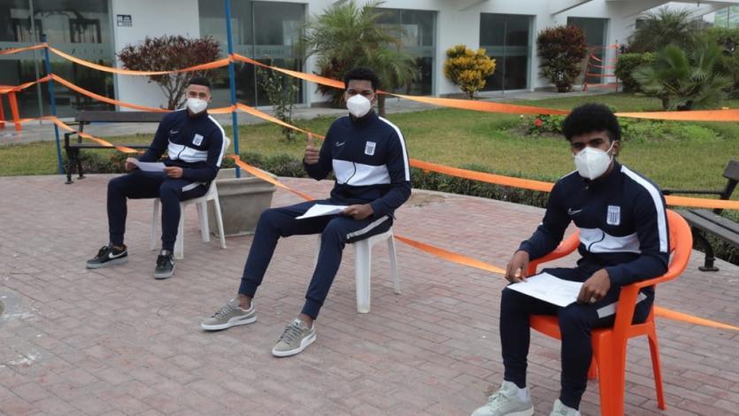 Alianza Lima: así fue la toma de pruebas de descarte de COVID-19 del conjunto blanquiazul (FOTOS)