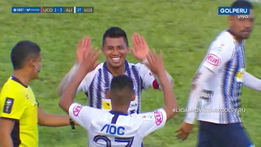 Rinaldo Cruzado y el gol de tiro libre que le dio a Alianza Lima el título del Torneo Clausura  (VIDEO)