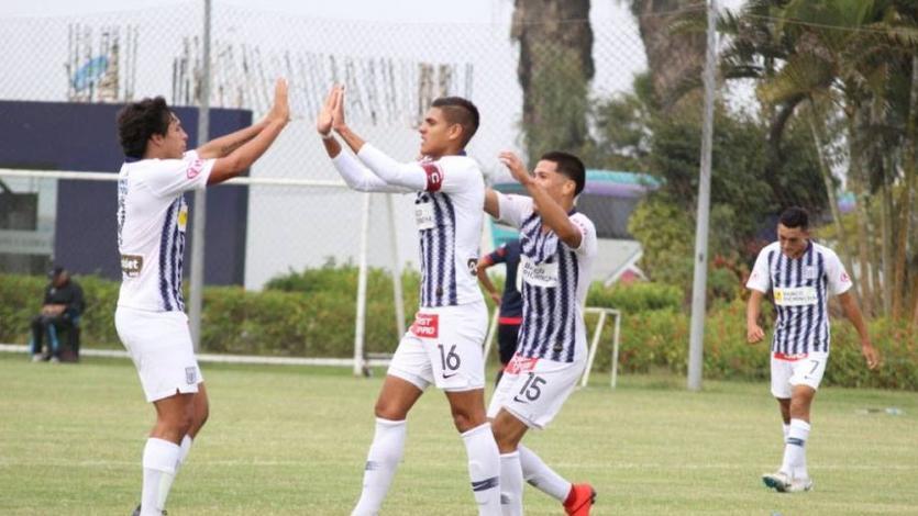 Torneo de Reservas: Alianza Lima no tuvo piedad con Binacional y lo goleó 8-0