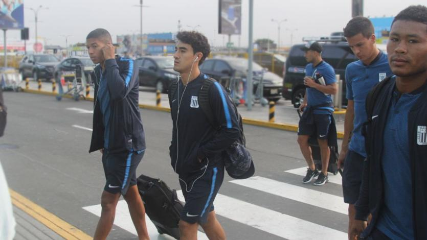 Alianza Lima partió a Brasil para enfrentar a Palmeiras