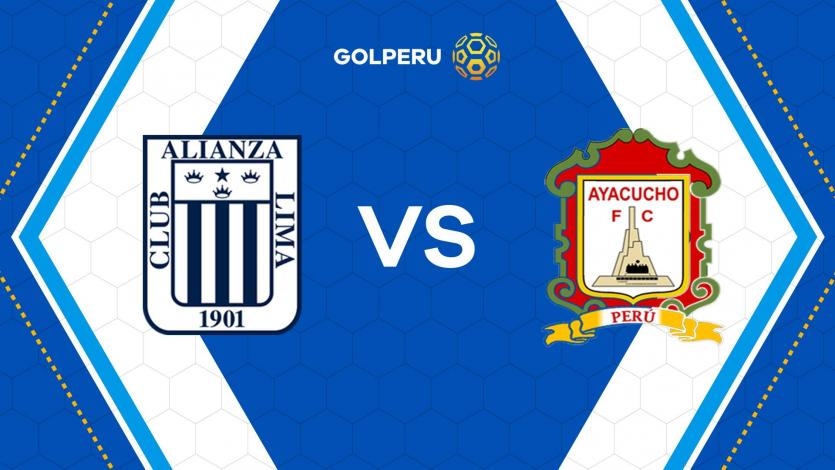Alianza Lima recibe a Ayacucho F.C por la fecha 13 del Torneo Apertura