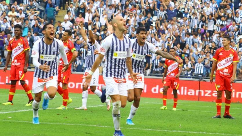 Alianza Lima venció 3-1 a Sport Huancayo y se mantiene en la punta del Torneo Clausura (VIDEO)