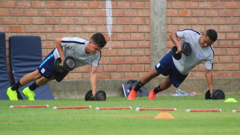 Alianza Lima sumó su primer día de pretemporada