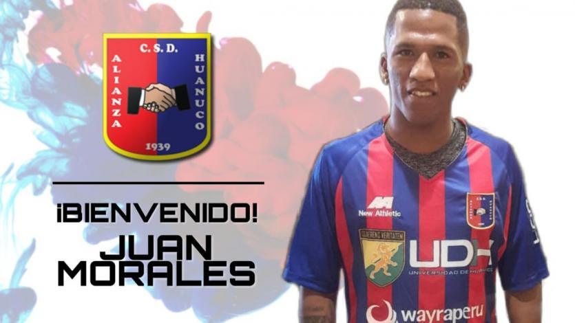 Alianza Universidad: Juan Morales dejó Unión Comercio y jugará en Huánuco