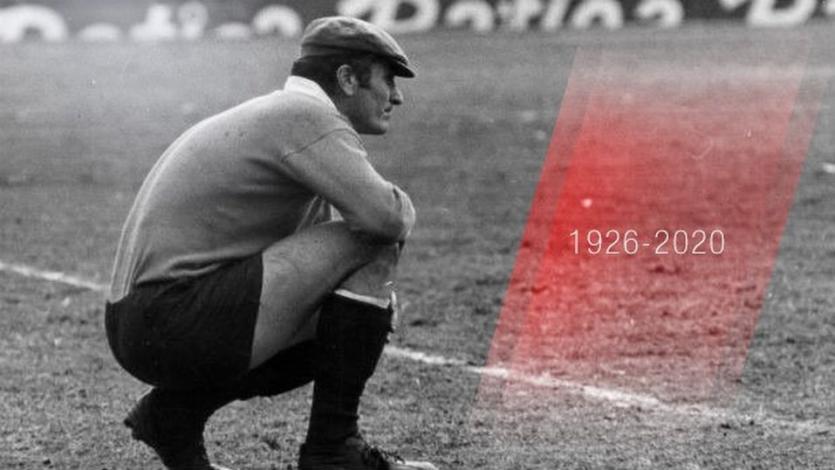 El ex portero argentino Amadeo Carrizo falleció a los 93 años