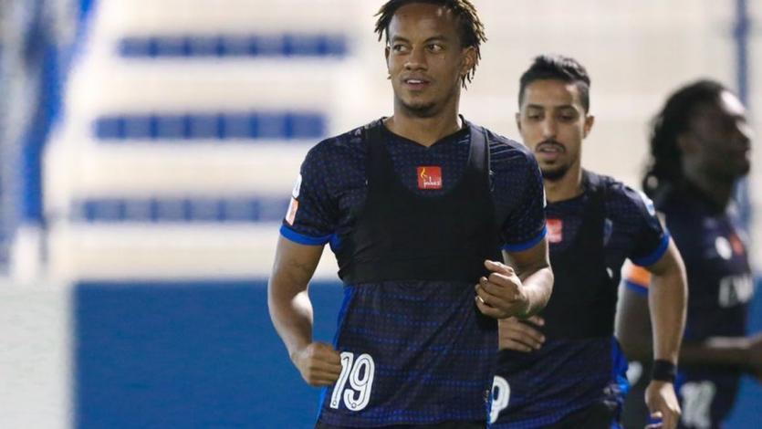 André Carrillo volvió a entrenar con el Al Hilal y espera la final de la Champions League de Asia