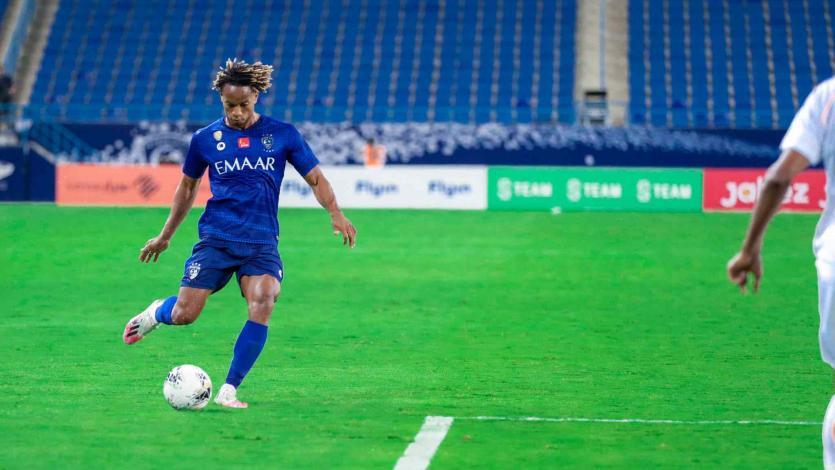 Con asistencia de André Carrillo, Al Hilal derrotó a Al Shabab por la última fecha de la liga árabe