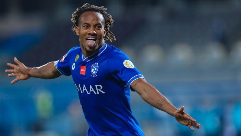 André Carrillo fue figura tras anotar el gol del triunfo para el Al-Hilal (VIDEO)