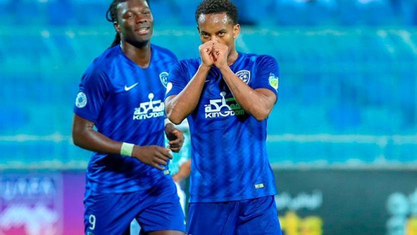 André Carrillo anotó su primer gol en el Al-Hilal