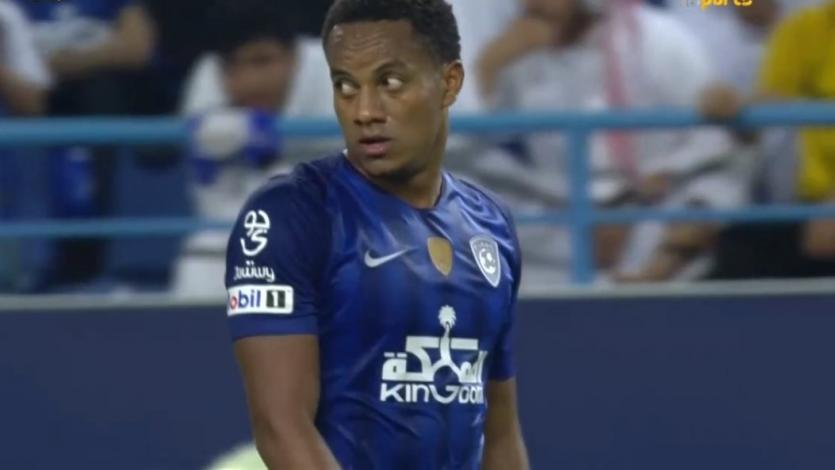 André Carrillo se hace presente en derrota del Al-Hilal (2-1)