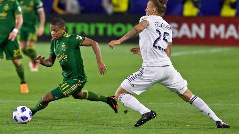 Andy Polo y el Portland suman su quinto triunfo seguido en la MLS