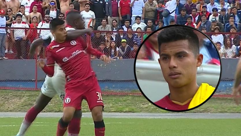 Anthony Osorio acabó llorando tras recibir brutal codazo en la mandíbula (VIDEO)