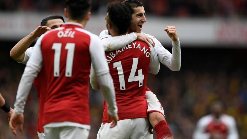 Arsenal corta la mala racha ante Watford (3-0)
