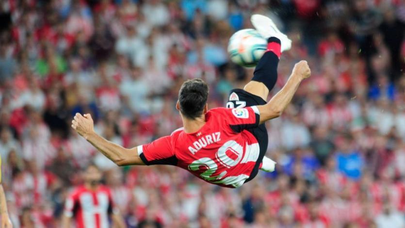 El golazo de  Aduriz con que Athletic Bilbao venció al Barcelona en el debut de LaLiga (VIDEO)