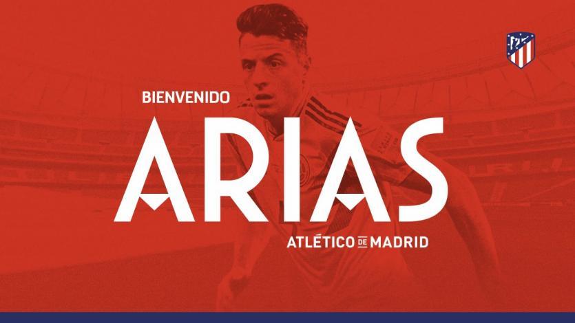 Atlético de Madrid anuncia el fichaje de Santiago Arias