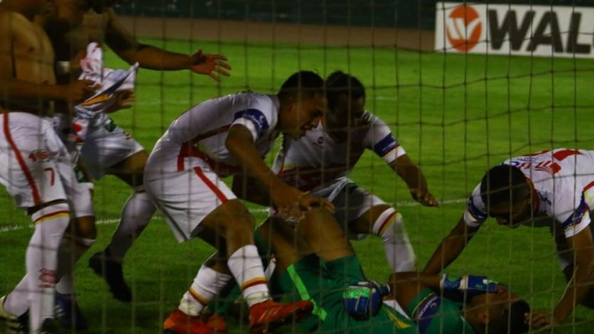 Atlético Grau: el emotivo video grabado instantes después de que Sport Huancayo fallara su penal