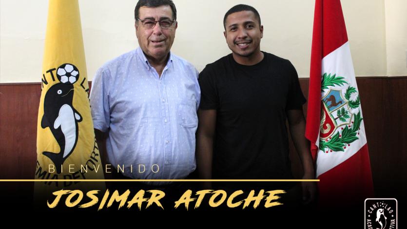 Josimar Atoche es el nuevo refuerzo de Academia Cantolao