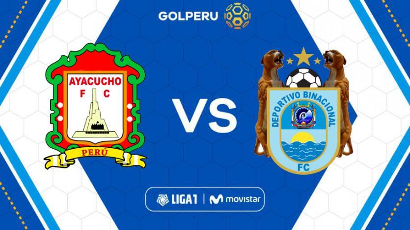 Ayacucho F.C y Deportivo Binacional abren la cuarta fecha del Torneo Apertura
