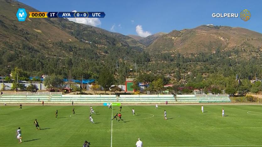 EN VIVO por GOLPERU: Ayacucho F.C 1 - 1 UTC