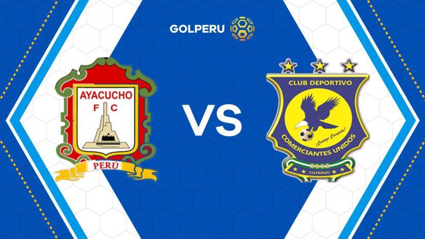 Previa: Ayacucho FC mide fuerzas contra Comerciantes Unidos