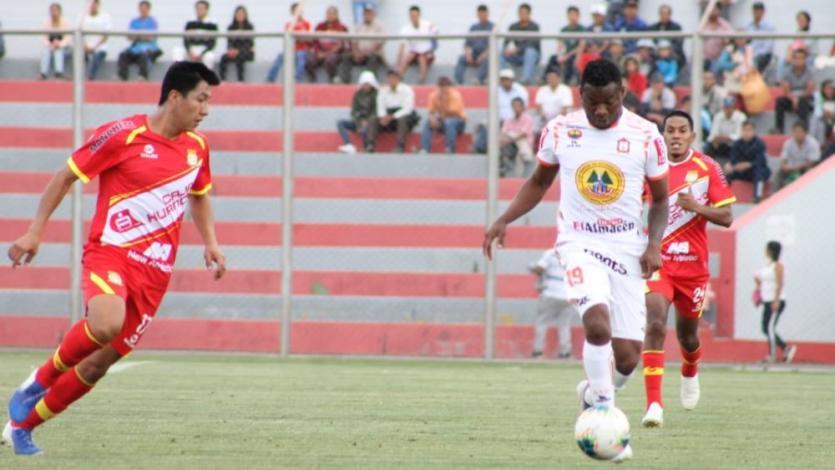 Sport Huancayo empató 1-1 con Ayacucho FC y tomó la punta en solitario del Torneo Clausura (VIDEO)