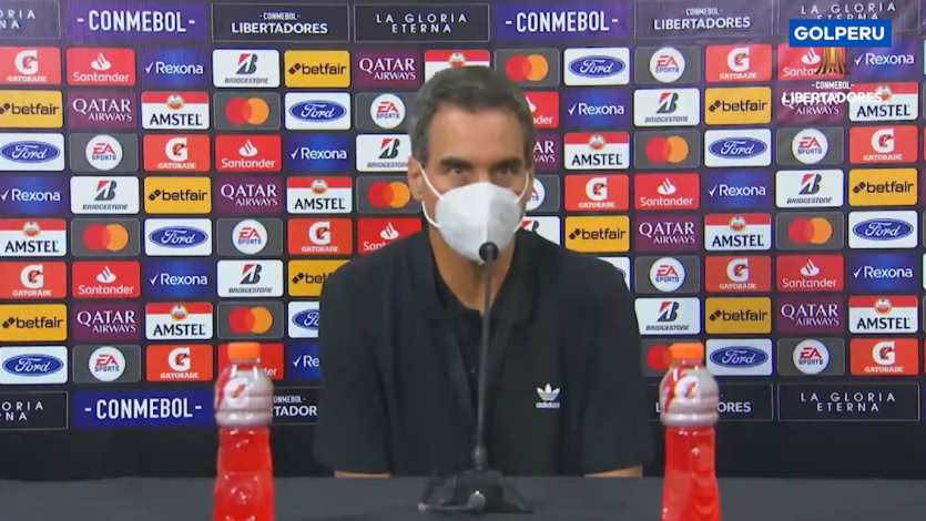 """José Guillermo del Solar: """"Estoy tranquilo y satisfecho con lo que hizo mi equipo"""" (VIDEO)"""