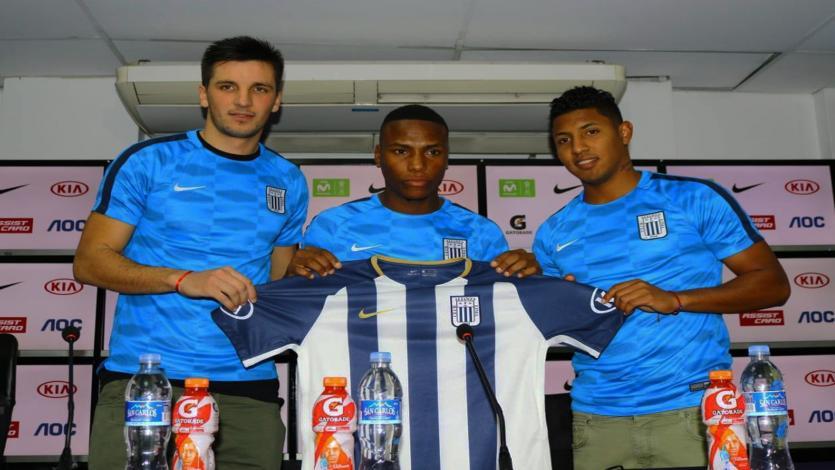 Copa Movistar: Alianza Lima presentó a sus tres nuevos refuerzos