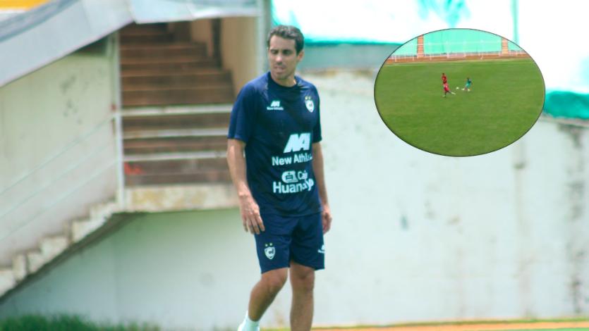 Cienciano: el alucinante gol de casi media cancha que anotó Carlos Orejuela en la pretemporada (VIDEO)